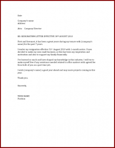 job offer letters resigning letter for reesignation date effective x