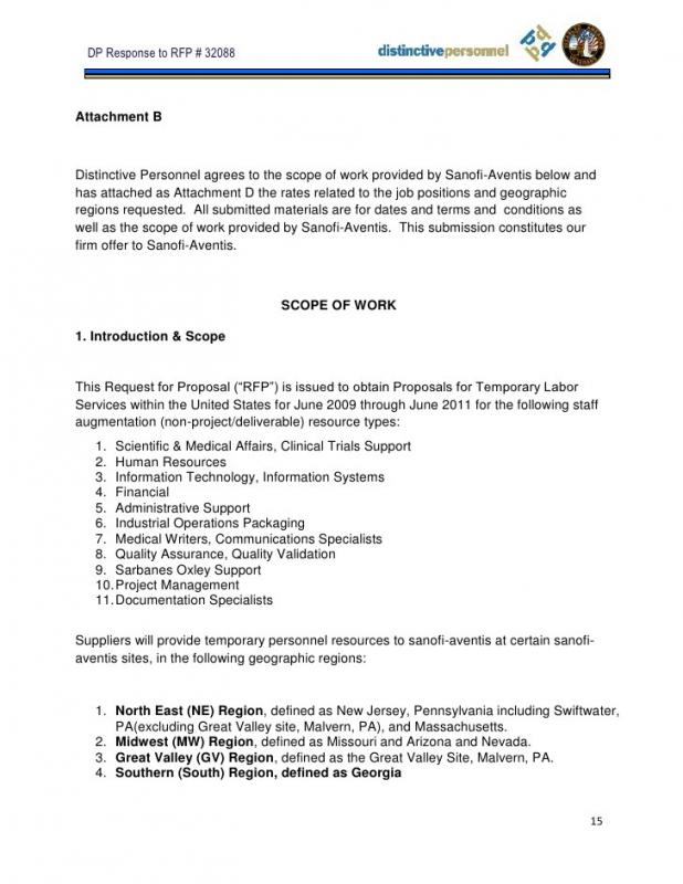 Job Proposal Template  Job Proposal Samples