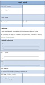 job proposal template jobproposaltemplate
