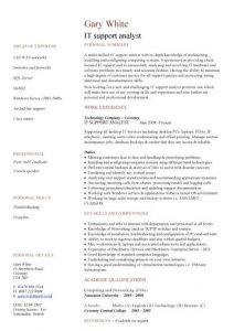 junior web developer resume pic it support analyst cv template