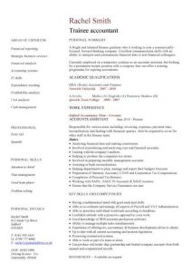junior web developer resume pic trainee accountant cv