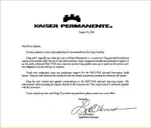kaiser doctors note kaiser permanente doctors note kaiserpermanenteletterofrecommendation
