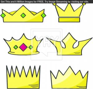 king crown template cartoon crowns fd