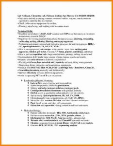 lab technician resume lab experience on resume anh nguyen laboratory technician resume in san diego ca biotechpharmaceutical industry cb