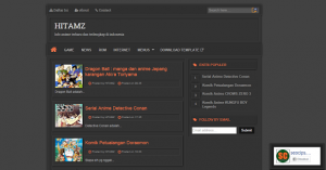 label templates free hitamz template blogger responsive