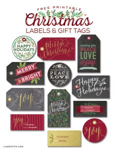 label templates free printable christmas labels tags