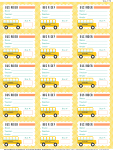 label templates free wl bus