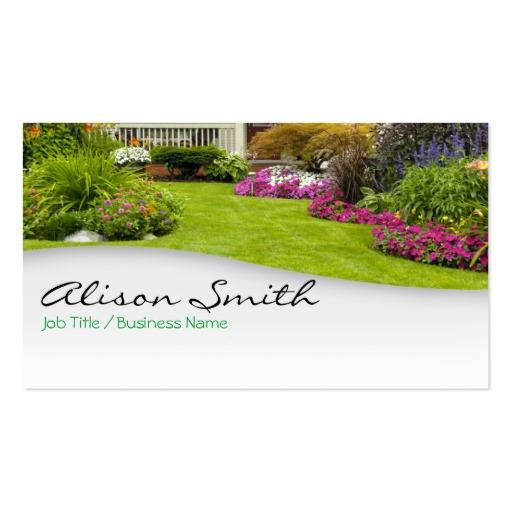 Landscaping Business Cards Template Business
