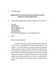 landscaping contract template herbal garden proposal for disha ngo
