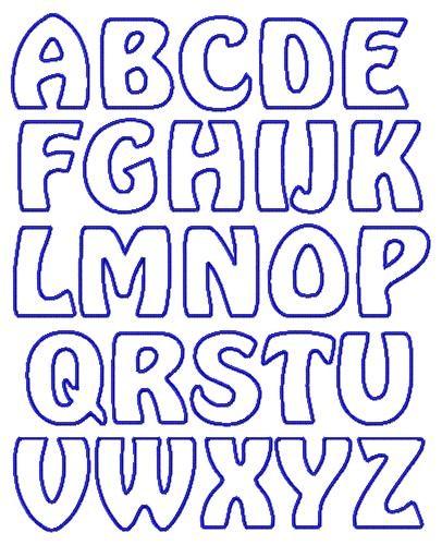 large alphabet letters