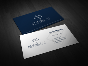law firm business cards image