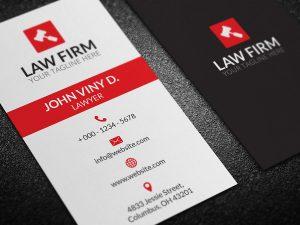 law firm business cards law firm business card