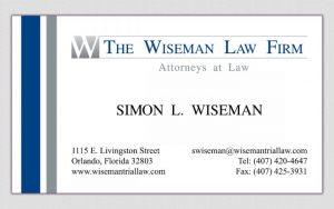 law office letterhead wiseman