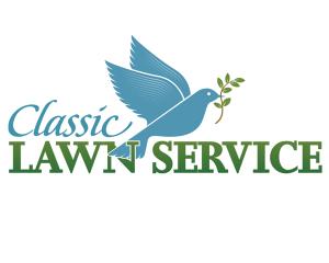lawn service logo classic lawn service logo