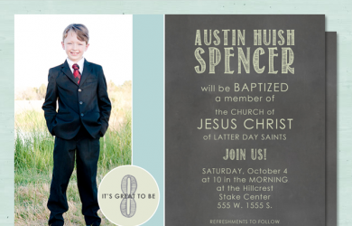 lds baptism invitations baptism invitation chalkboard example boy