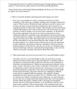 leadership essay example student leadership essay sample