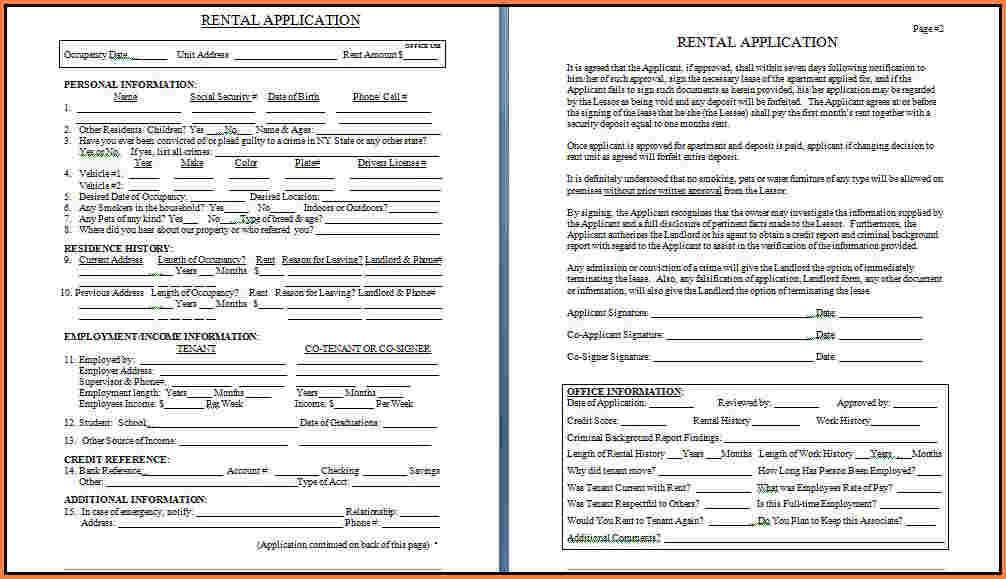 Lease Agreement Pdf  Template Business