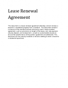 lease renewal agreement fsrzy lease renewal agreement