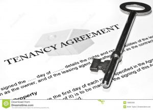 lease renewal form signing new tenancy agreement
