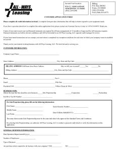 leasing agreement pdf equipment lease agreement