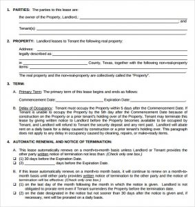 leasing application form texas association of realtors residential lease agreement
