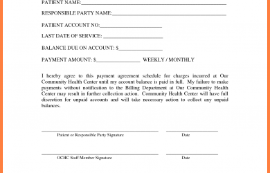 legal contract example payment agreement template payment agreement template