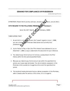 legal contract templates demdcop sample pdf