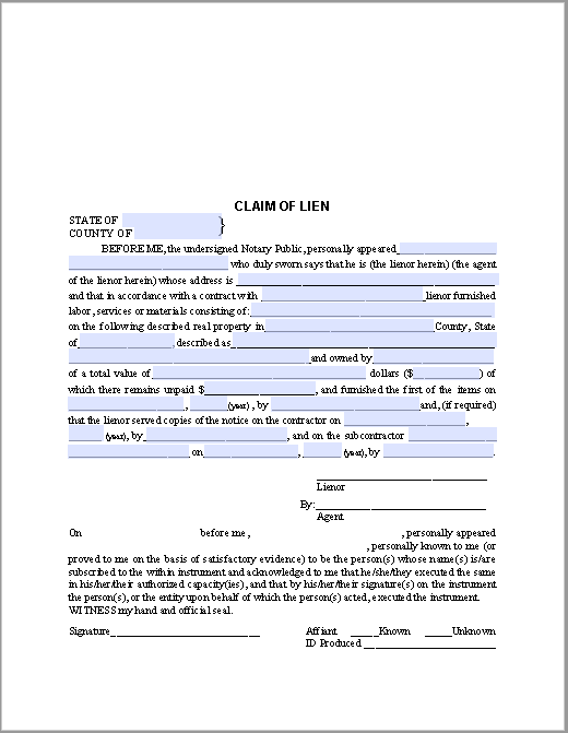 legal contracts template