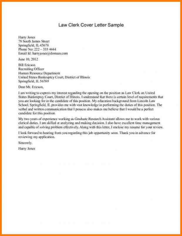 legal letter template