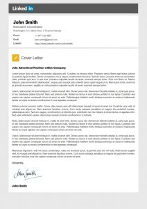 legal letters template linkedin cover letter