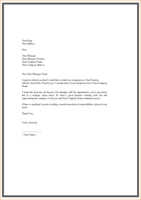 legal letters template