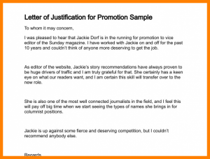legal memo template justification memo template letter of justification for promotion sample