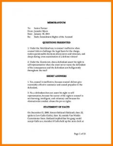 legal memo template memorandum of law sample writing sample memorandum cb