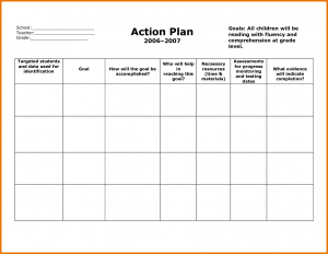 lesson plan template for preschool action plan templates