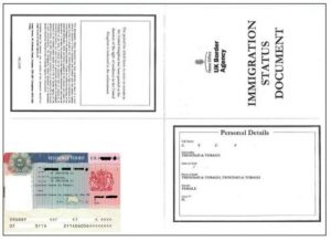 letter for immigration immigration status document