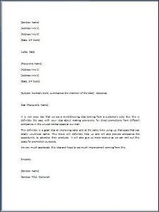 letter format formal admiration letter