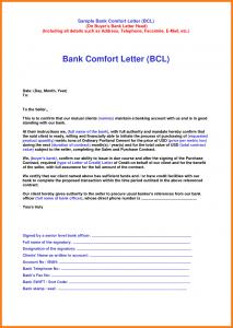 letter format templates letter of comfort sample comfort letter sample