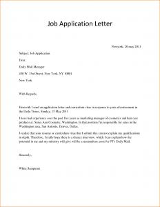 letter of application sample simple application letter sample for any position