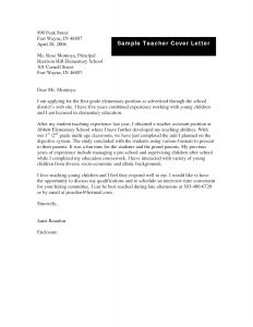 letter of applications examples sample cover letter for job application as a teacher application letter for teaching job pdf