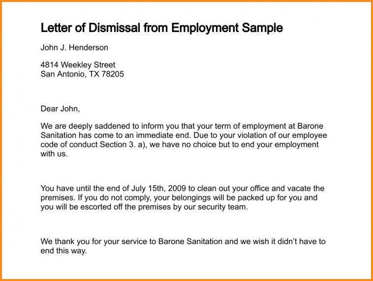letter of complaint samples