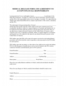 letter of harship sample medical financial agreement forms