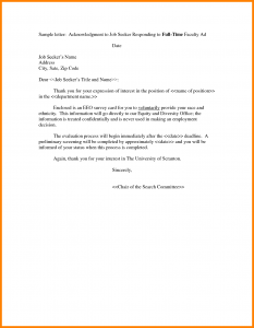 letter of interest for a job expression of interest letter template job letter of interest template