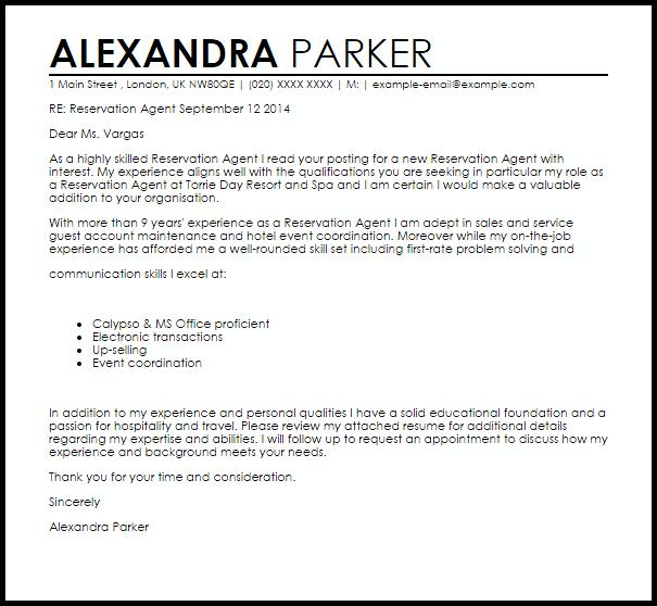 letter of interest samples