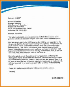 letter of recommendation for college scholarship letter for a doctor job recommendation letter
