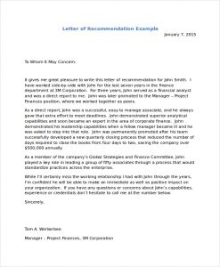letter of recommendation for immigration sample letter of recommendation for a friend