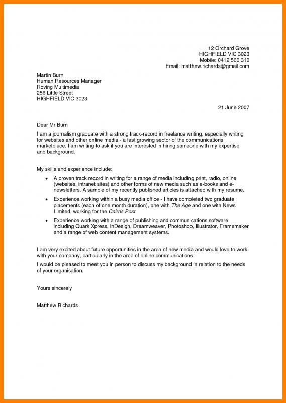 Letter Of Recommendation For Internship Template Business