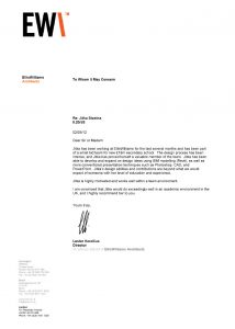 letter of recommendation for internship reference letter lester korlizius