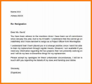 letter of recommendation for student template letter for notice period resignation letter no notice period