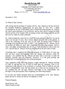 letter of recommendation format letter of recommendation sample
