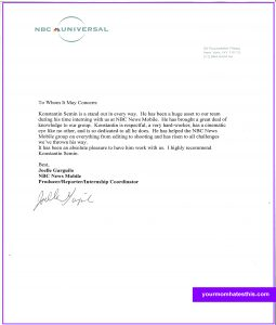 Letter Of Recommendation Format Letter Of Recommendation Template 2  Formats For Letters Of Recommendation